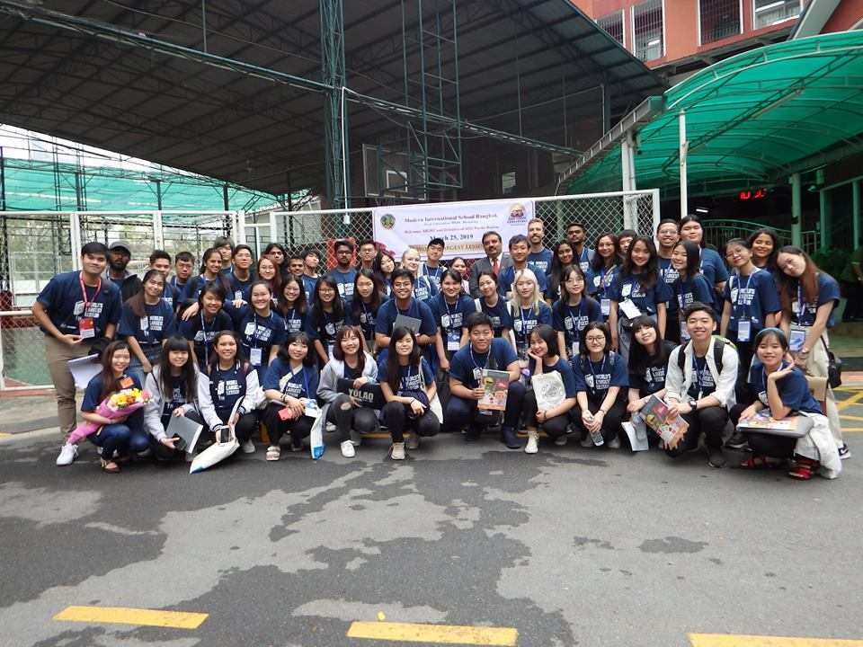 AIESEC and Delegates of ASIA Pacific Region visits MISB