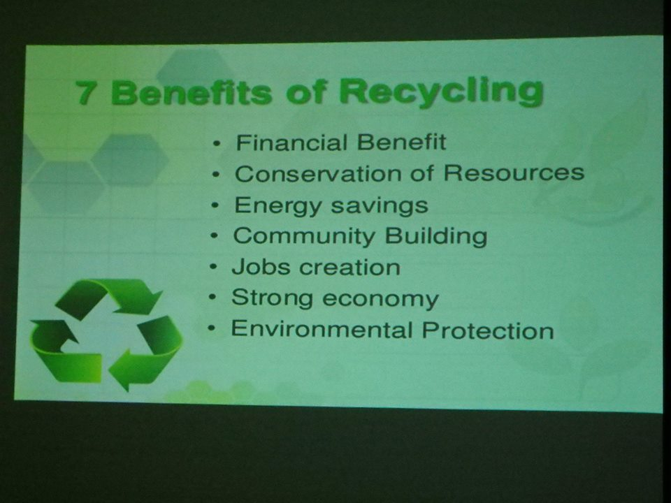 Seminar by students of Assumption University on Recycling and Environmental Awareness at MISB