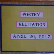EYFS Poetry Recitation 2017,26,04