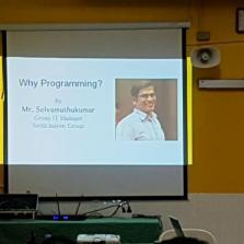 Computer Science 'Why Programming?' Seminar