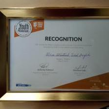 WORLD'S LARGEST LESSON  Recognition Certificate By AIESEC