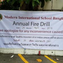 Annual Fire Drill @ MISB 25-4-18