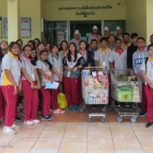 Community Service at Pakkred Babies Home (Year 10)