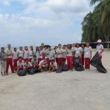 Community Service Beach Cleaning by Year 9