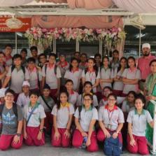 Community service Gurdwara cleaning 20/3/18