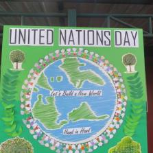 EYFS United Nations Day Celebration 24.10.18