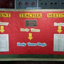Parent-Teacher Meeting 16.03.2019